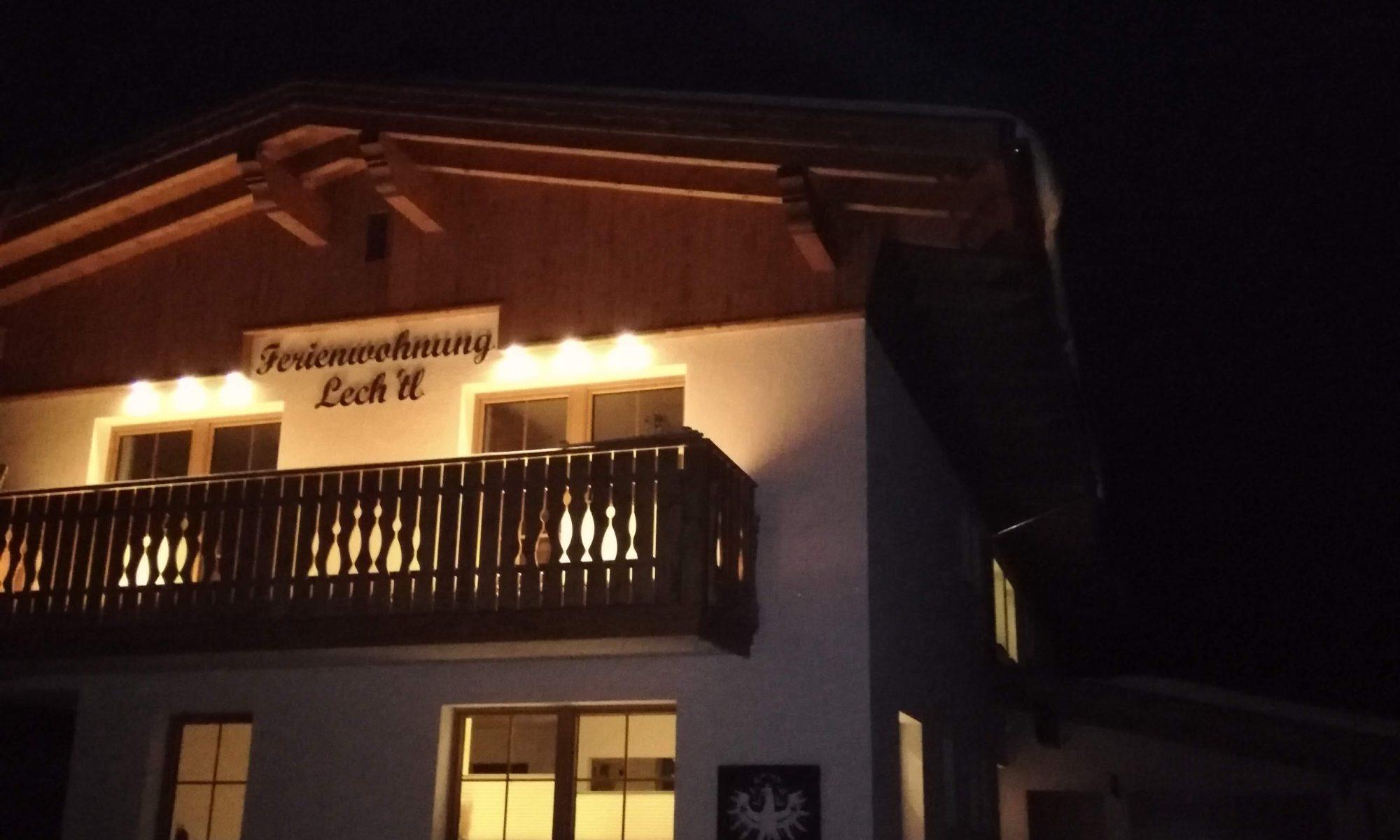 Ferienwohnung Lech'tl